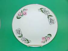 Rythum Pink & Gray Roses Dinner Plate 10 1/8 Homer Laug
