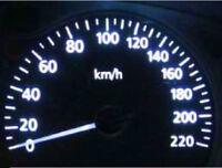 White LED Dash Light Kit for Nissan Skyline R31 R32 R33 GTR