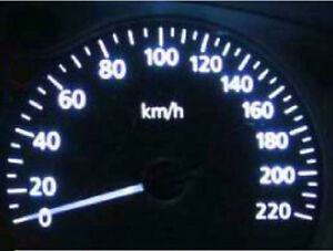 White LED Dash Light Kit for Nissan Skyline R34