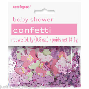 Baby Shower Girl Party Decorations Foil Table Confetti