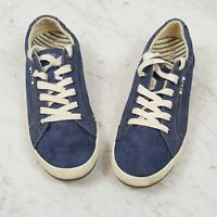 [ TAOS ] Womens Star Blue washed canvas sneakers Shoes   Size EUR 40 or US 9