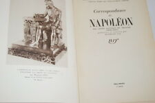 Correspondance de NAPOLEON,Vox-N.R.F,1948