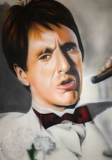Scarface On Canvas 24 X 36 Al Pacino
