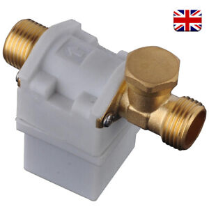 DC 12V 1/2″ Magnetic Electric Solenoid Valve for Water Air Normally Closed