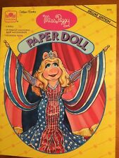 Vintage 1994 Miss Piggy Paper Dolls-Deluxe Edition-1994-Pristine-SHIPS FREE