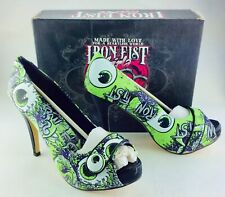 IRON FIST OH NO LADIES PLATFORM SHOES NEW NIB SZ 6 RETIRED IFL0072
