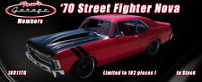 GMP ACME 1:18 1970 CHEVROLET NOVA TOMS GARAGE STREET FIGHTER 102 MADE