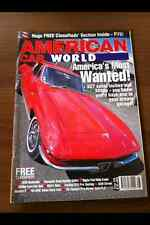 American Car World Magazine agosto 05 Plymouth Road Runner, Pontiac Gto, ford Hot Rod