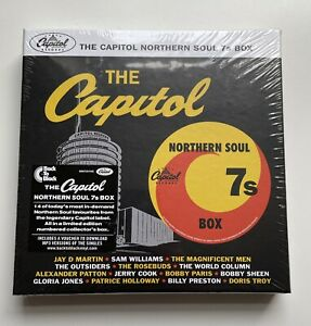 THE CAPITOL NORTHERN SOUL 7's BOX SET STILL SEALED