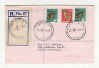 New Zealand Leithfield 1975 Registered Cover  092c