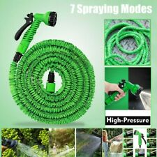 US Stock 50FT Expandable Garden Water Hose Pipe with Spray Nozzle Gun Car Washer