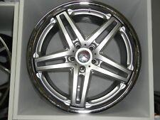 Emotion Wheels Star Evo 8.5 x 19 ET45 LK 5x112 Silber mit Inox-Blende