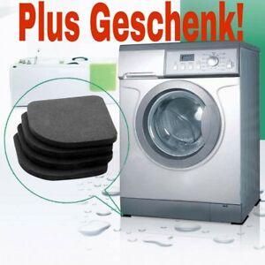 Anti Vibration Waschmaschine Rutschfest Matte Kühl Schrank Schock Pads 4/8 Stck