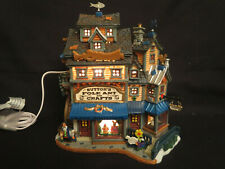 LEMAX Sutton's Folk Art & Crafts 45140 Lighted Building 2004 Harvest Crossing