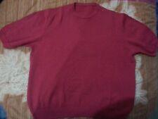 lotto 831 maglia maglione pura lana tg.M/L donna rosso