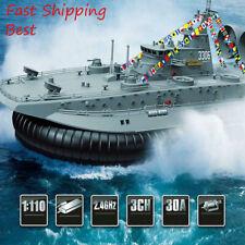 Professional Brushless War/military ship HG-C201 RC Model 2.4G 1:110 hovercraft