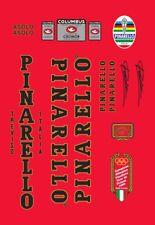 PINARELLO GAVIA FRAME DECAL SET BLACK//GOLD