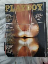 1982 Lot of 12 Playboy Magazines ~ Complete Set Full Year, GREAT DEAL, SEE PICs!