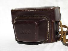 Vintage KODAK 80 Field leather Case with strap  #00107