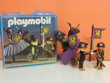 Playmobil Medival caballero negro años 90 ref 3669 Caja original 4