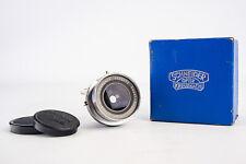 Schneider-Kreuznach Super Angulon 47mm f/8 Large Format Lens Caps Ring & Box V14