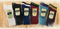 Maggie's Organics Classic Crew Socks Tri-Packs 98% Organic Cotton Color Variety