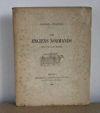 Les anciens normands Gabriel Gravier 1898 Imprimerie E. Cagniard