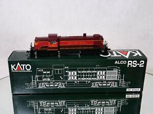KATO INC USA n° 37-2101 Motrice 53 ALCO RS-2 CHICAGO GREAT WESTERN en HO neuf