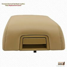 2006 07 2008 Ford F150 Lariat Armrest Console Leather Synthetic Cover Color Tan