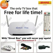Great Bee Arabic TV box IPTV box support 400+ Arabic channels Free for life!