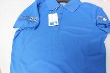 Ladies Golf Polo Shirt Aberdeen Asset Management Scottish Open Royal Blue S, L