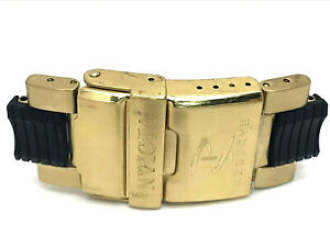 Invicta Ocean Hawk 6314 Two Tone Men's Watch Replacement Clasp + End Links 24mm