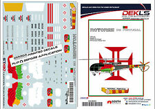 1/48 Alouette III - Rotores De Portugal Helicopter Aerobatic Team Decal