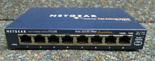 Netgear FS108 8 puertos Switch Fast Ethernet 10/100Mbp/s Hub sin fuente de alimentación