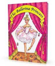 """""""Ballerina Prinzessin"""" personalisiertes Buch für Mädchen oder Erwachsene als Gag"""