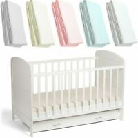 Spacesaver Cot Fitted Sheet Deluxe Baby 100% Cotton 100x52cm