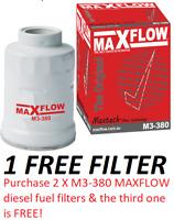 Fit Ryco Z699 Diesel Fuel Filter Ford Ranger PJ PK 2.5L 3.0L WL-AT Maxflow® Fuel
