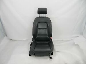 ☑️ 06-07 AUDI A3 Passenger Right Front Black Leather Seat Assembly OEM