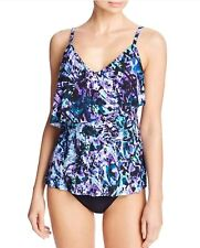 811ff72cc28 Magicsuit by Miraclesuit Chasing butterflies chloe tankini top Size 10
