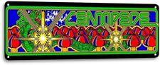 Centipede Classic Arcade Marquee Game Room Garage Shop Wall Decor Metal Tin Sign