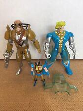 Vintage Marvel ToyBiz X-Men Special Metallic Edition Loose Maverick/Fitzroy Set