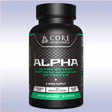 CORE NUTRITIONALS ALPHA (56 CAPSULES) testosterone test booster dry lean gains