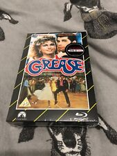 GREASE-VHS RANGE-HMV EXCLUSIVE-NEW/SEALED- BLU-RAY+DVD-LIMITED EDITION
