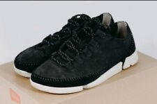 Scarpe Clarks Originals Trigenic Stringate Uomo Black Leather