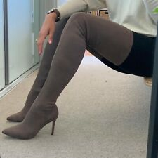 lipstik Over The Knee boots High Heel Size 6 New
