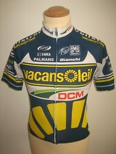 Vacansoleil WORN by DANNY VAN POPPEL jersey shirt cycling maillot trikot size S