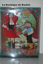 LITTLE RED RIDING HOOD AND THE WOLF BARBIE GIFTSET, MORE POP CULTURE DOLLS, NRFB