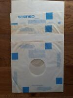 "100 Vintage 12"" Poly-lined Anti-Static Mixed Inner Record Sleeves"