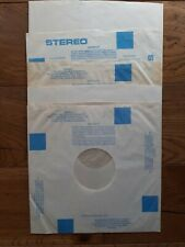 "25 Vintage 12"" Poly-lined Anti-Static Mixed Inner Record Sleeves"