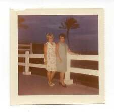 Vintage Photo 2 Pretty Mature Women, Friends, 1960's,  Jan
